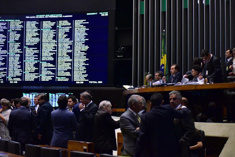 Plenário Ulysses Guimarães - Ordem do Dia
