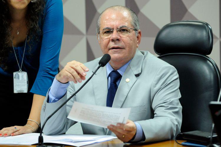 Eleição para presidente e vice-presidente. Vice-presidente eleito, dep. Hildo Rocha (MDB - MA)