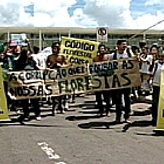 Codigo florestal manifestação