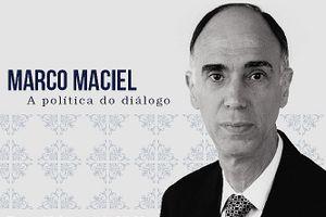 Capa - Marco Maciel – A política do diálogo