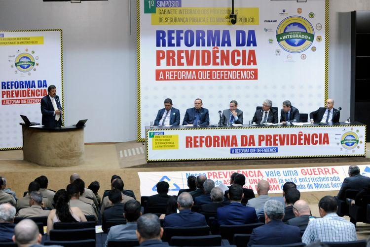Seminário – Os profissionais de segurança pública na Reforma da Previdência: A Reforma que defendemos
