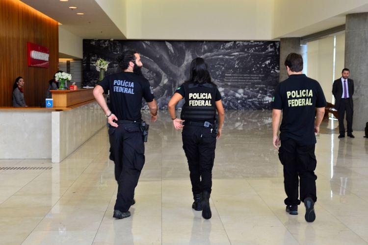 Segurança - policiais - polícia federal