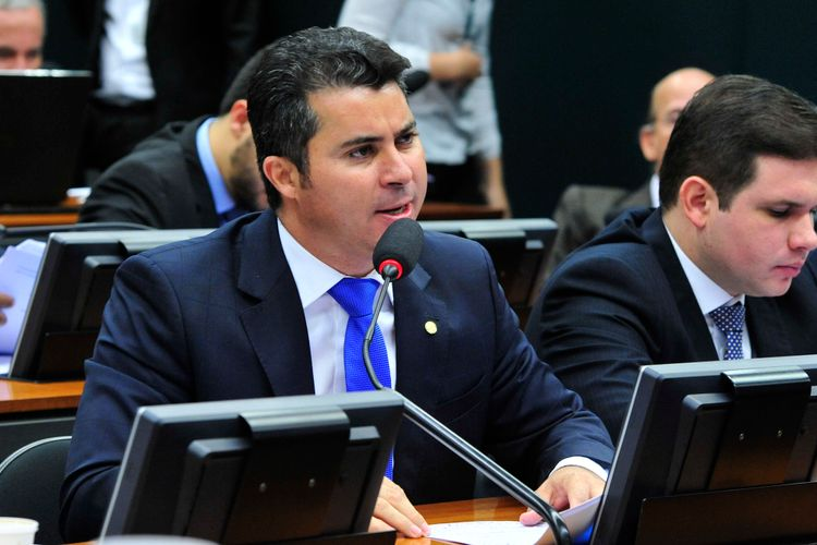Reunião ordinária para definição do roteiro de trabalho da comissão. Dep. Marcos Rogério (DEM-RO)