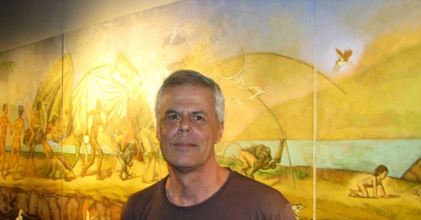 Os desenhos e a pintura de Sergio Rizo (REPRISE)