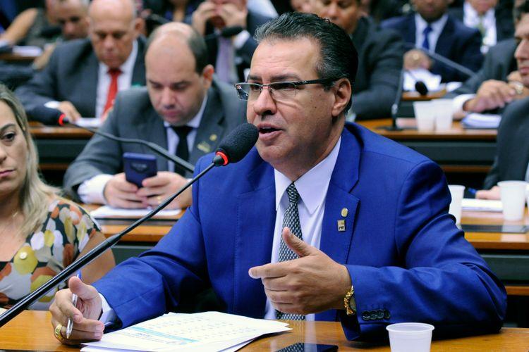 Reunião de trabalho. Dep. Capitão Augusto (PR - SP)