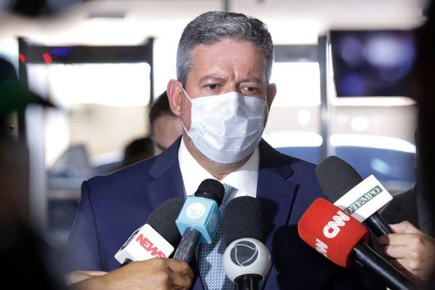 Presidente da Câmara dos Deputados, Arthur Lira, concede entrevista