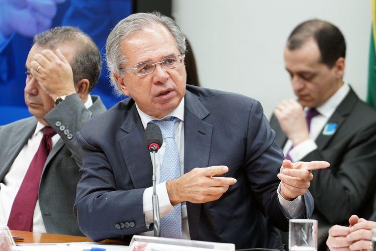 Audiência pública sobre os impactos econômicos e financeiros da Reforma da Previdência. Ministro de Estado da Economia, Paulo Roberto Nunes Guedes
