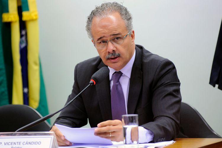 Reunião Ordinária para ajustes do plano de trabalho do relator e deliberação de requerimentos. Dep. Vicente Candido (PT - SP)