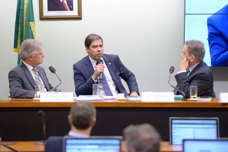 Tomada de depoimento do Ex-Presidente do BNDES, Paulo Rabello de Castro