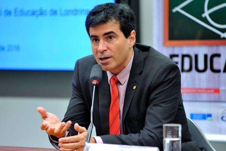 Lançamento do Processo seletivo para contratação do futuro secretário de Educação de Londrina (PR). Dep. Marcelo Belinati (PP-PR)