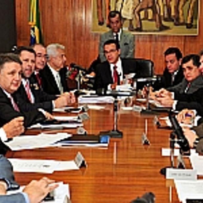 Presidente Henrique Eduardo Alves e líderes partidários definem a pauta semana