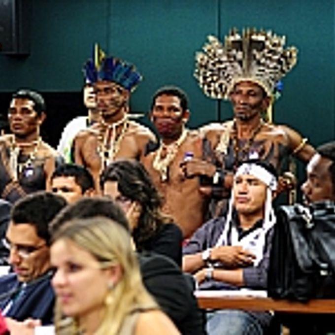 Presença indígena na CCJ