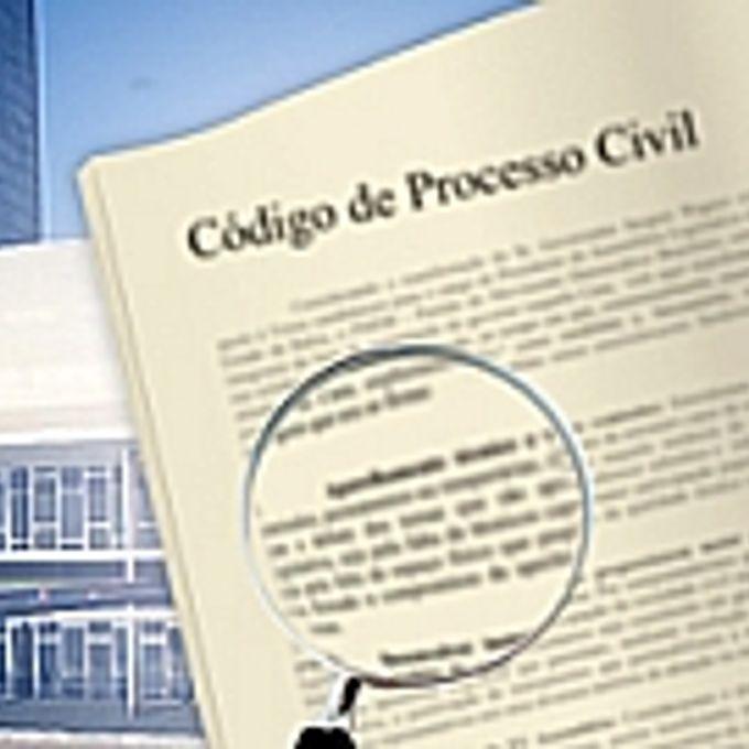 Justiça - Código de Processo Civil - selo