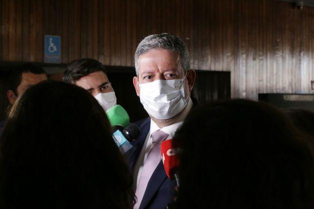 Presidente da Câmara, dep. Arthur Lira PP-AL, concede entrevista