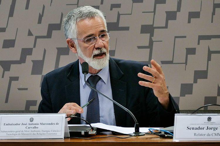 Embaixador José Antônio Marcondes de Carvalho Comissão de Mudanças Climáticas