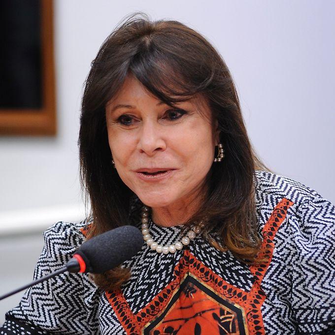 Reunião de instalação da comissão e eleição do Presidente e dos Vice-Presidentes. Dep. Maria Helena (PSB-RR)