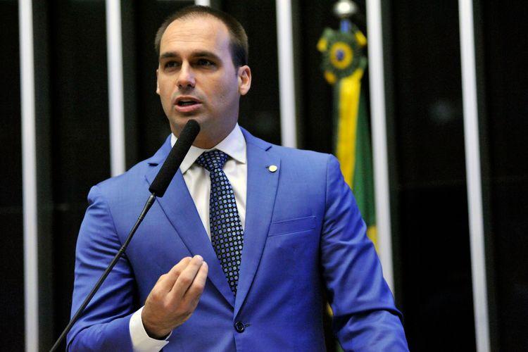 Homenagem aos 65 Anos do Esquadrão de Demonstração Aérea – EDA - Esquadrilha da Fumaça. Dep. Eduardo Bolsonaro (PSC - SP)
