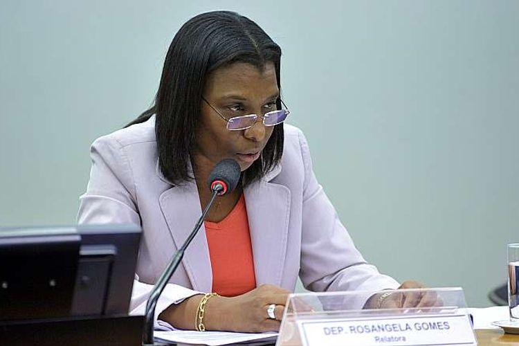 Reunião para discussão e votação do relatório da CPI, da dep. Rosângela Gomes (PRB-RJ)