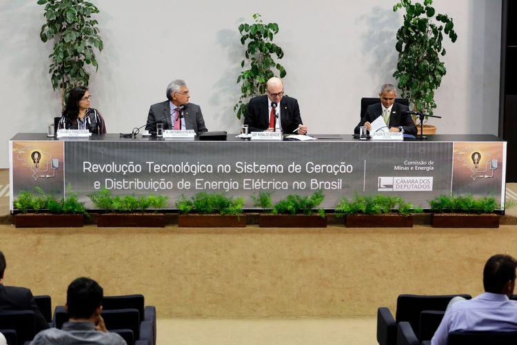 Seminário: A revolução tecnológica no sistema de geração e distribuição de energia elétrica no Brasil