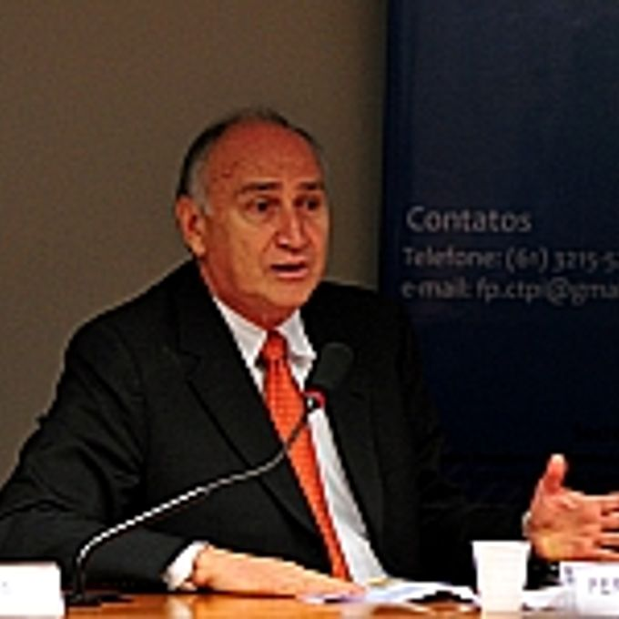 Reunião de debates sobre o tema: Indústria Química encolhe no país. Presidente da Associação Brasileira da Indústria Química (Abiquim), Fernando Figueiredo