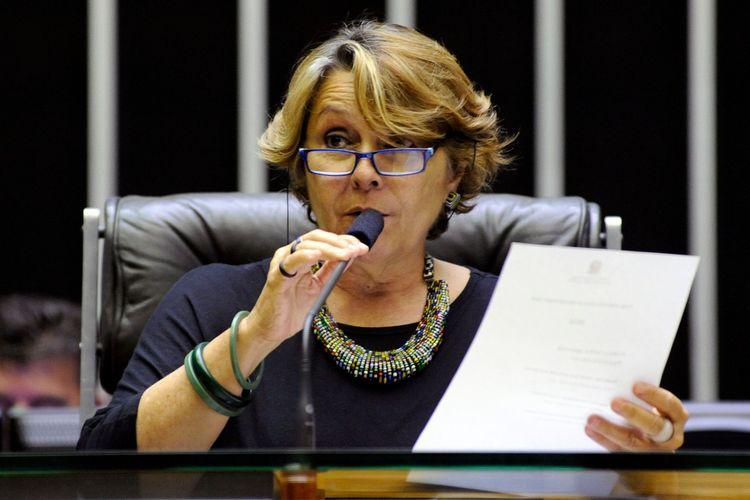 Parlamento Jovem - Solenidade de Posse e Eleição da Mesa. Dep. Érika Kokay (PT-DF)
