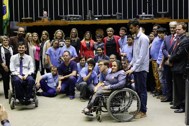 Homenagem ao Fórum de Inclusão das Pessoas com Deficiência no Distrito Federal