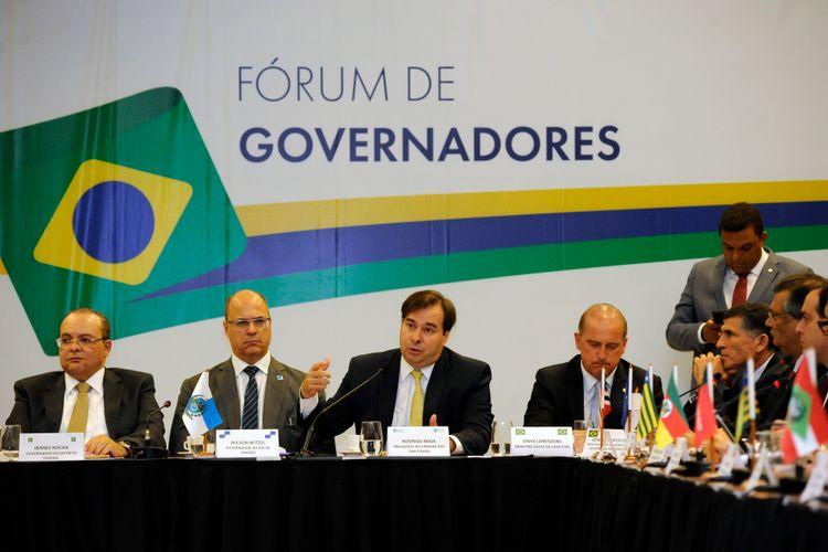 Reunião dos 27 governadores eleitos para o mandato 2019-2022