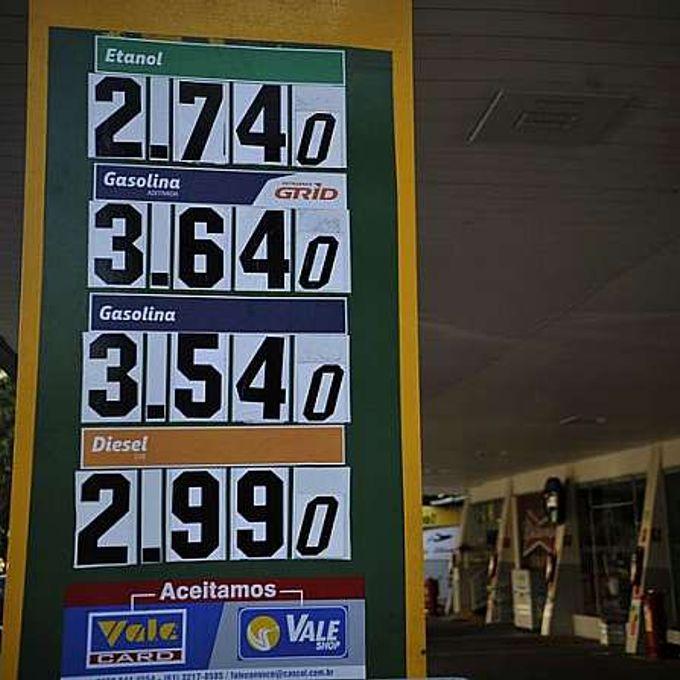 Energia - combustível - preço da gasolina, posto de gasolina