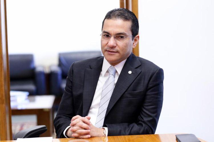 Reunião com o Presidente ABIT, Sr. Fernando Pimentel. Vice-presidente da Câmara, dep. Marcos Pereira (PRB - SP)