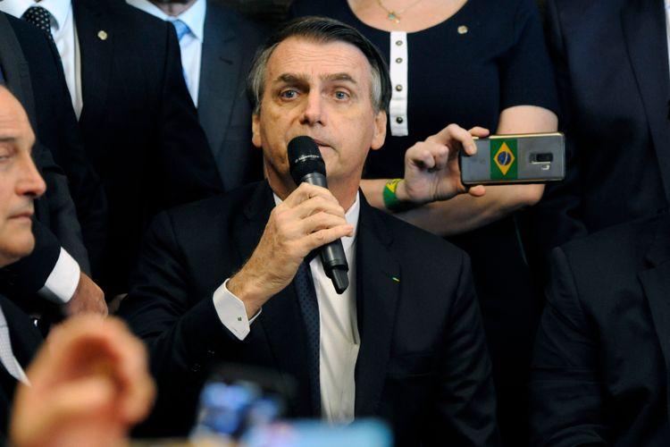 Presidente da Câmara dos Deputados, dep. Rodrigo Maia, recebe o Presidente da República, Jair Bolsonaro