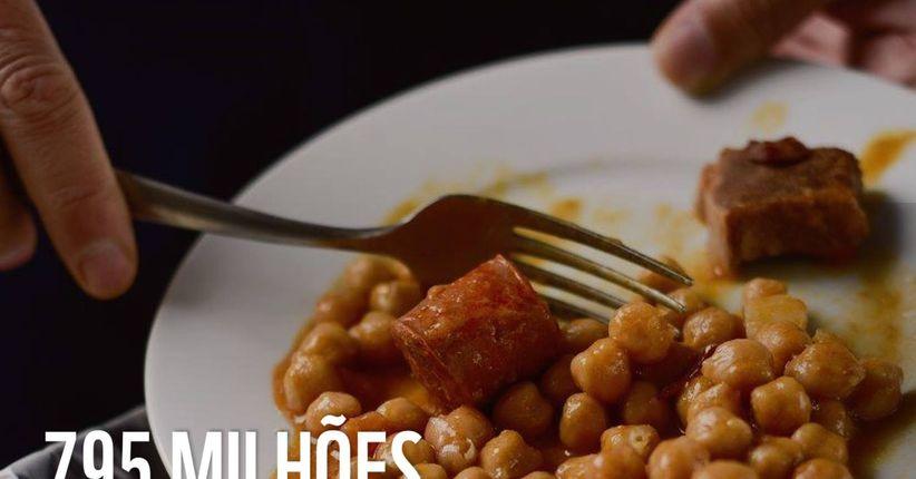 Fome x Desperdício de alimentos (REPRISE)