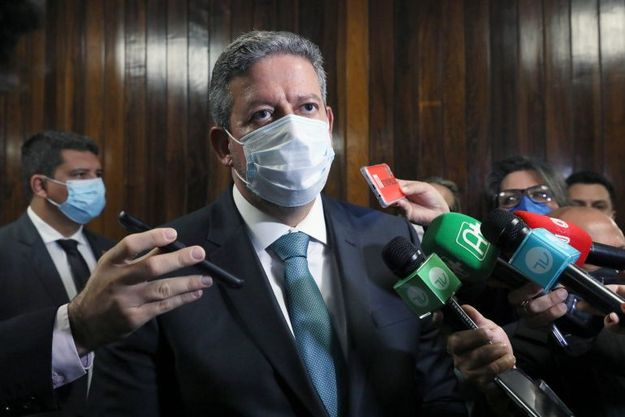 Presidente da Câmara, dep. Arthur Lira PP - AL, concede entrevista