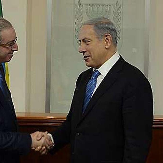 Presidência - Presidente Eduardo Cunha e primeiro-ministro de Israel Benjamin Netanyahu em 03/06/15