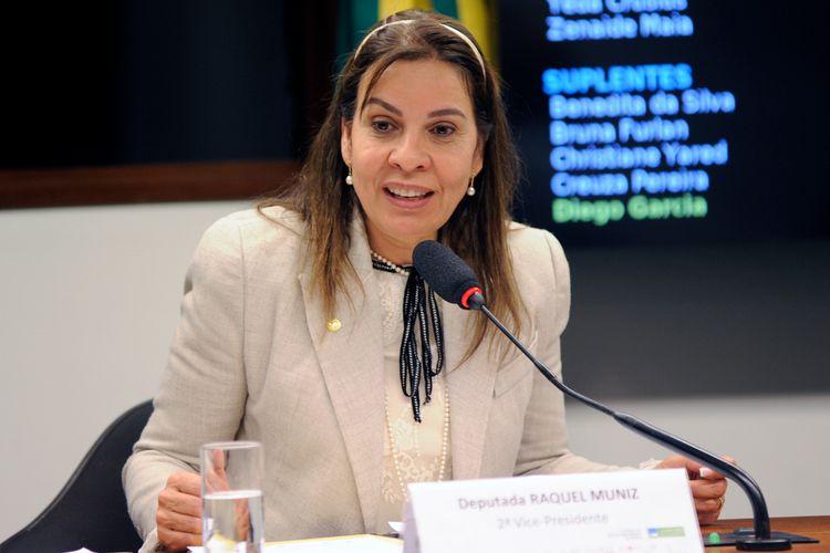 Reunião técnica sobre o empoderamento feminino. Dep. Raquel Muniz (PSD - MG)