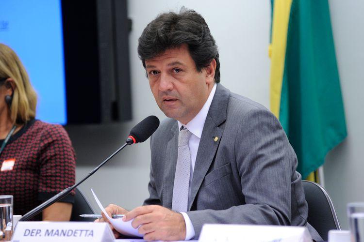 Audiência pública para esclarecimentos sobre o preço de comercialização de medicamentos em farmácias brasileiras. Dep. Mandetta (DEM-MS)