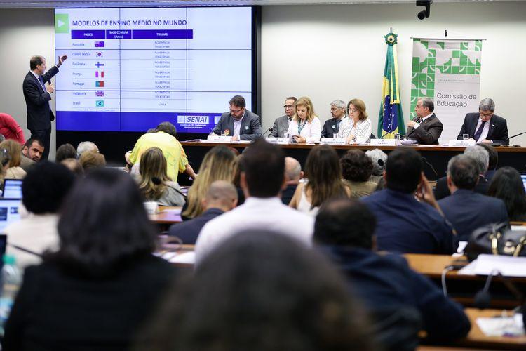 Audiência pública sobre a Reformulação do Ensino Médio
