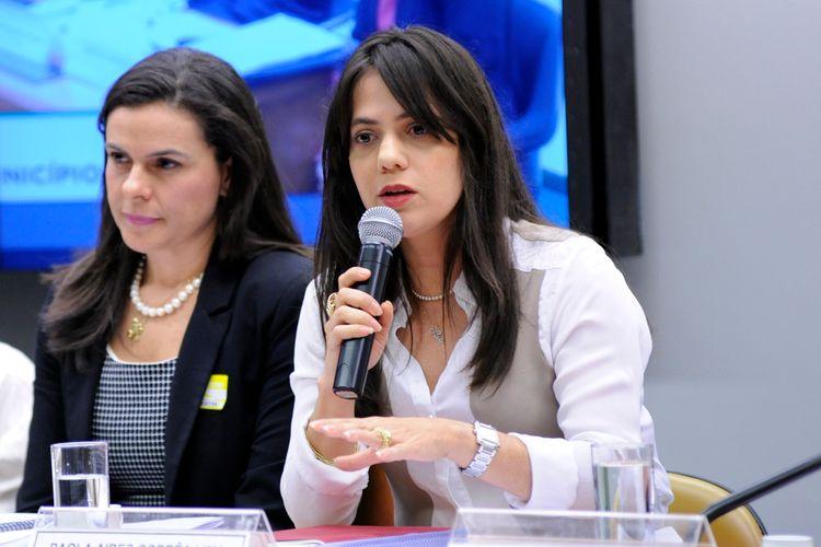 Audiência Pública. Procuradora-geral do Distrito Federal, Paola Aires Corrêa Lima