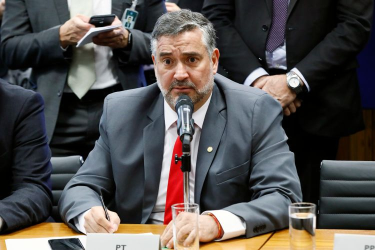 Reunião de líderes. Dep. Paulo Pimenta (PT - RS)