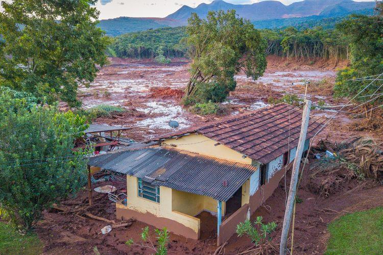 Cidades - catástrofes - Brumadinho rompimento barragem  Vale mineração rejeitos desastres ambientais destruição