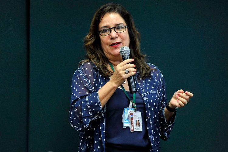 Audiência pública sobre as fontes de Financiamentos para os Estudantes da Educação Superior Privada no País. Diretora Executiva da Associação Brasileira para o Desenvolvimento da Educação Superior (ABRAES), Elizabeth Guedes