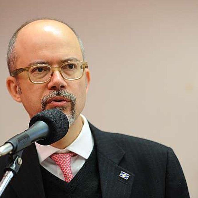 Seminário. Presidente do SEBRAE, Luiz Barreto