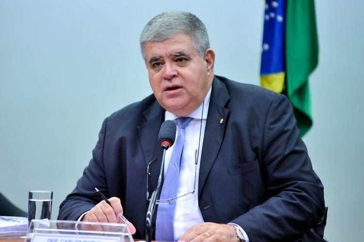 Audiência Pública. Presidente da Comissão, dep. Carlos Marun (PMDB-MS)