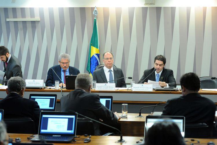 Reunião para apreciação do relatório da Comissão Mista sobre a MP 783/17, que institui o Programa Especial de Regularização Tributária junto à Secretaria da Receita Federal do Brasil e à Procuradoria-Geral da Fazenda Nacional