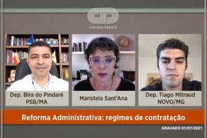Capa - Reforma Administrativa: regimes de contratação
