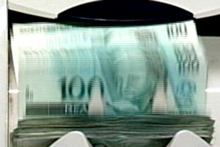 Economia - Dinheiro - Máquina de contar dinheiro - Inflação