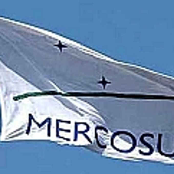 Relações Exteriores - Mercosul - Bandeira Mercosul