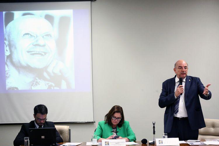 Audiência pública sobre o Enfrentamento da Violência no Legislativo e nas Políticas de Estado. Ministro do Desenvolvimento Social, Osmar Terra