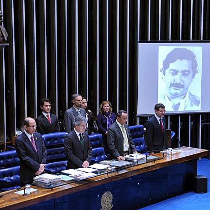Sessão solene do Congresso Nacional em memória dos 25 anos da morte do líder seringueiro Chico Mendes
