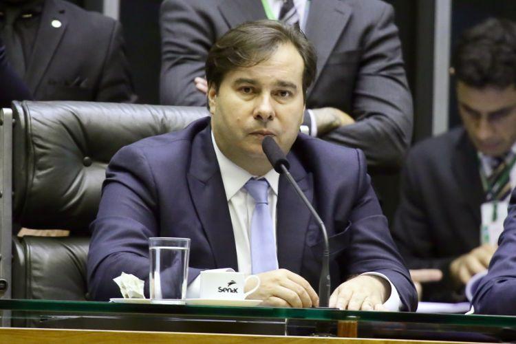 Ordem do dia para discussão e votação de diversos projetos. Presidente da Câmara dos Deputados, dep. Rodrigo Maia (DEM-RJ)