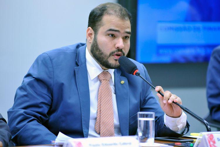 Audiência pública sobre a comercialização e a propaganda de produtos de seguro pela internet. Dep. Lucas Vergilio (SD - GO)